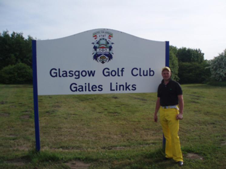 Simon Bellemy: Glasgow Gailes Links - TheGolfPA.com